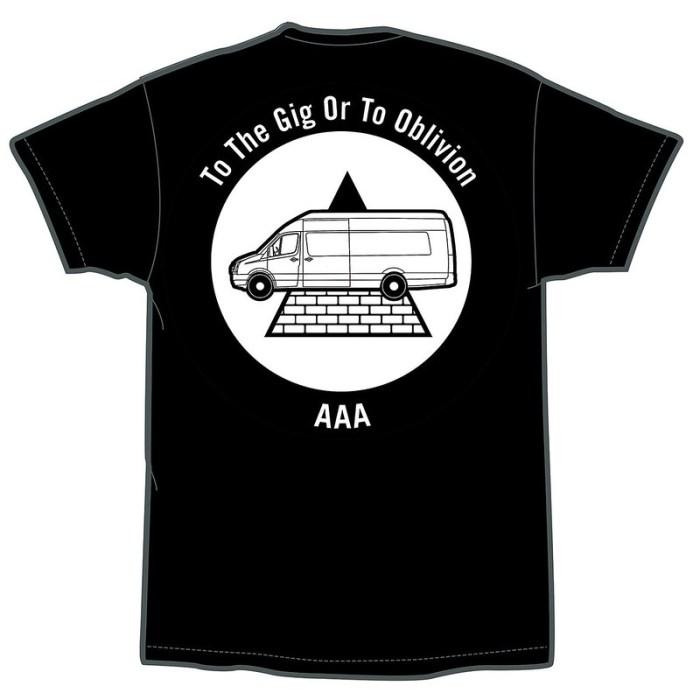 Iron Man Records T-Shirt Back Web