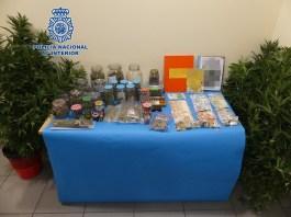 La Policía Nacional detiene a los responsables de tres clubs cannábicos en Telde