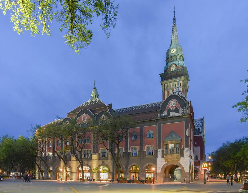 city hall of subotica