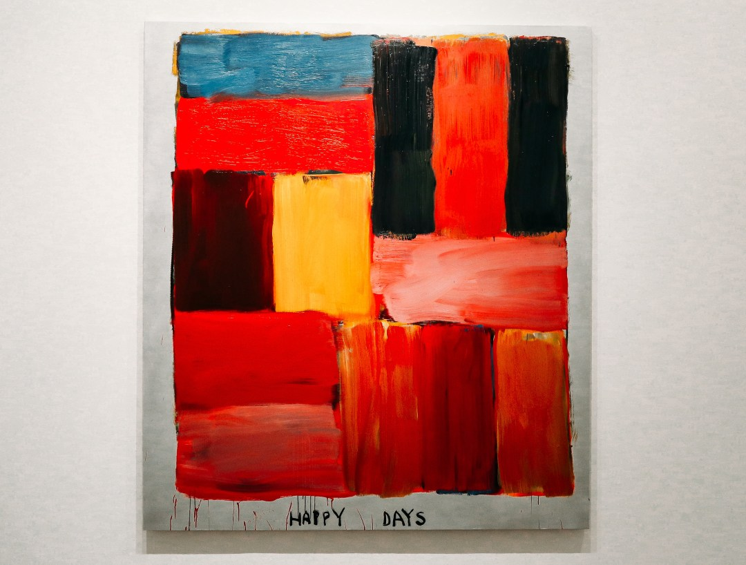 Mostra Long Night di Sean Scully a Villa Panza