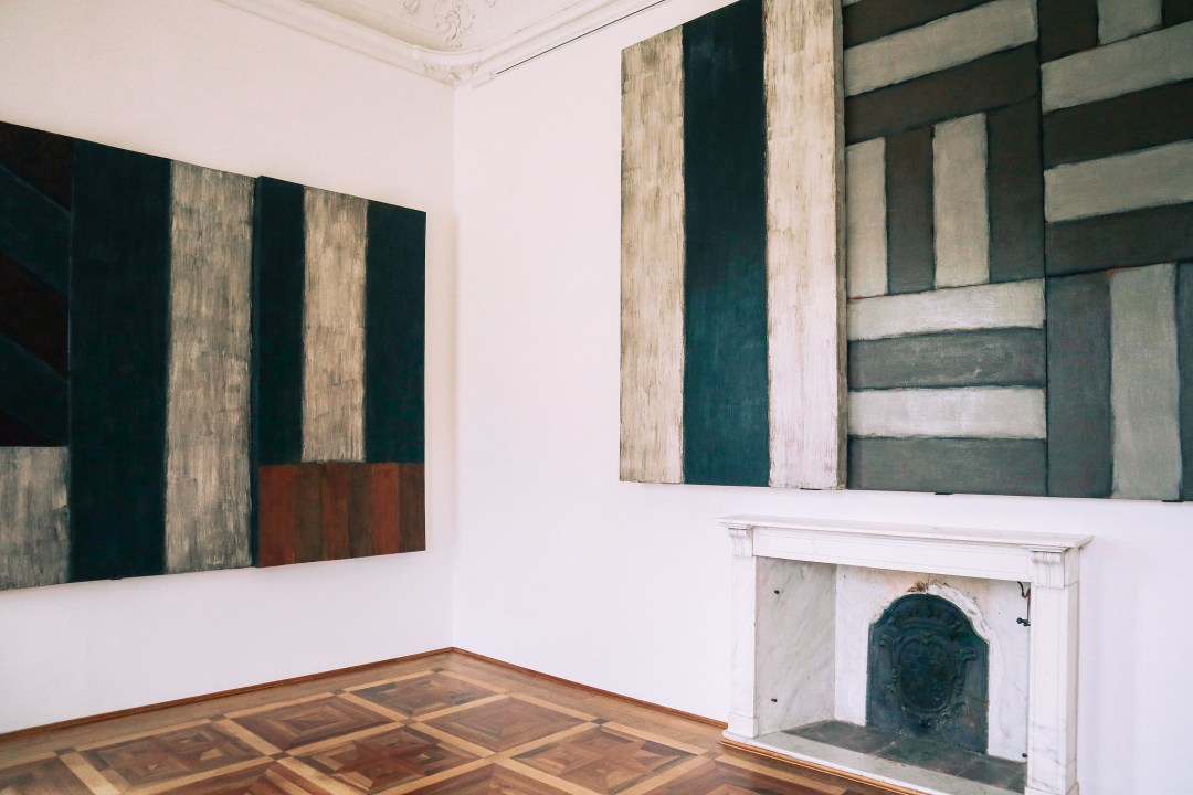 Black paintings, Sean Scully