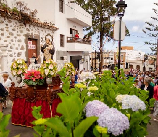 Sancocho popular como colofón a unas fiestas de San Antonio de Padua multitudinarias en la Villa de Moya