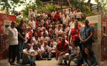 Los Equipos de Respuesta Inmediata en Emergencias (ERIE) de Cruz Roja en Canarias se reunieron en la isla de Gran Canaria