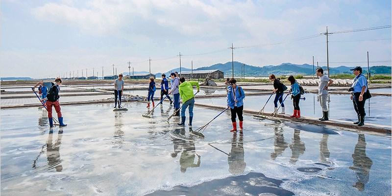韓國全羅南道景點 | 新安曾島太平鹽田-體驗鹽田生活,品嚐海鹽冰淇淋,很不一樣的韓國旅遊新體驗。