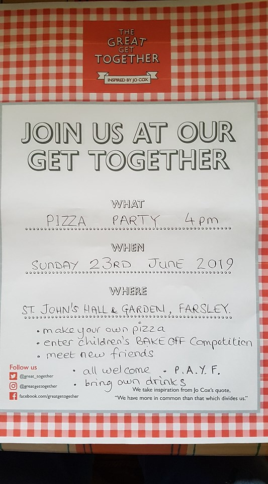Farsley The Great Get Together