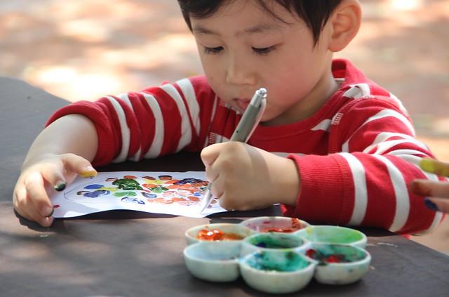 2. 藝術創作 Painting Class at Grand Lapa Macau