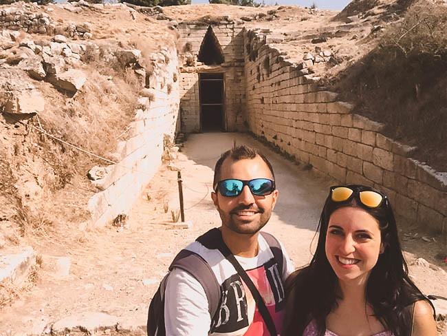 Entrada a la Tumba de Clitemnestra | Visitar Micenas | Grecia Peloponeso