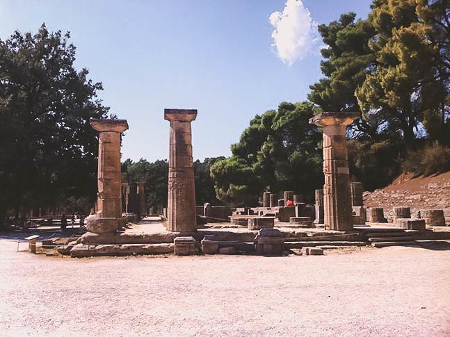 Templo de Hera | Olimpia | Grecia Peloponeso