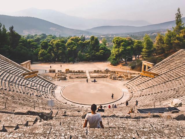 Teatro de Epidaruo · Epidauro · Grecia · Peloponeso · Road Trip por Grecia · Click_Trip ·