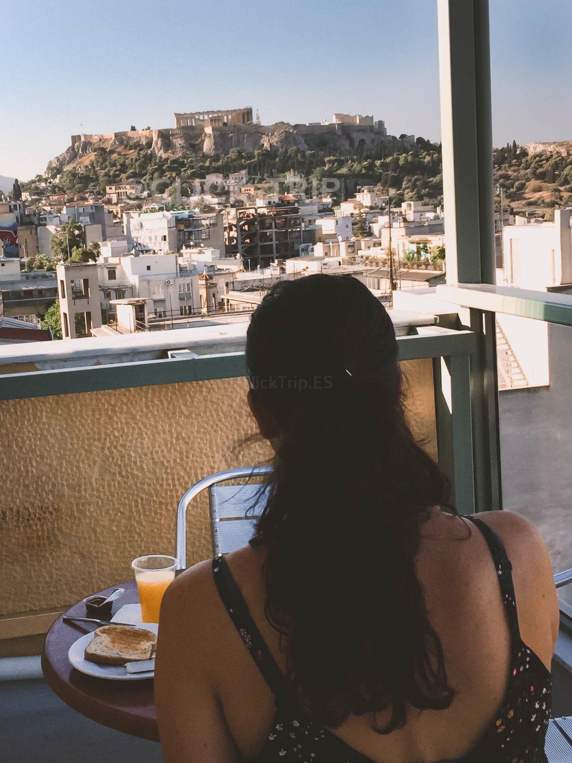 ¿Dónde dormir en Grecia? Hoteles en Grecia Continental | Evripides Hotel | Atenas | Road Trip | ClickTrip