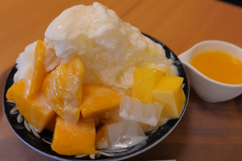 ゆきはな 台湾かき氷 マンゴー ハーフ