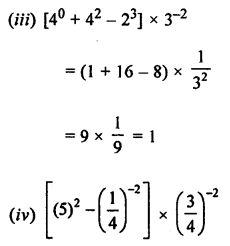 ML Aggarwal Class 8 Solutions for ICSE Maths Chapter 2