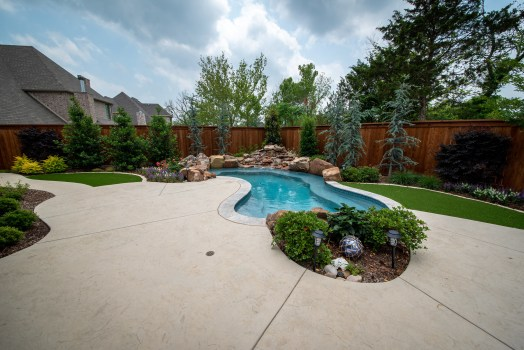 Johnson, Allison Pools - Freeform Spool (Small Pool)Gene (3719 Parkwood Ln.)13