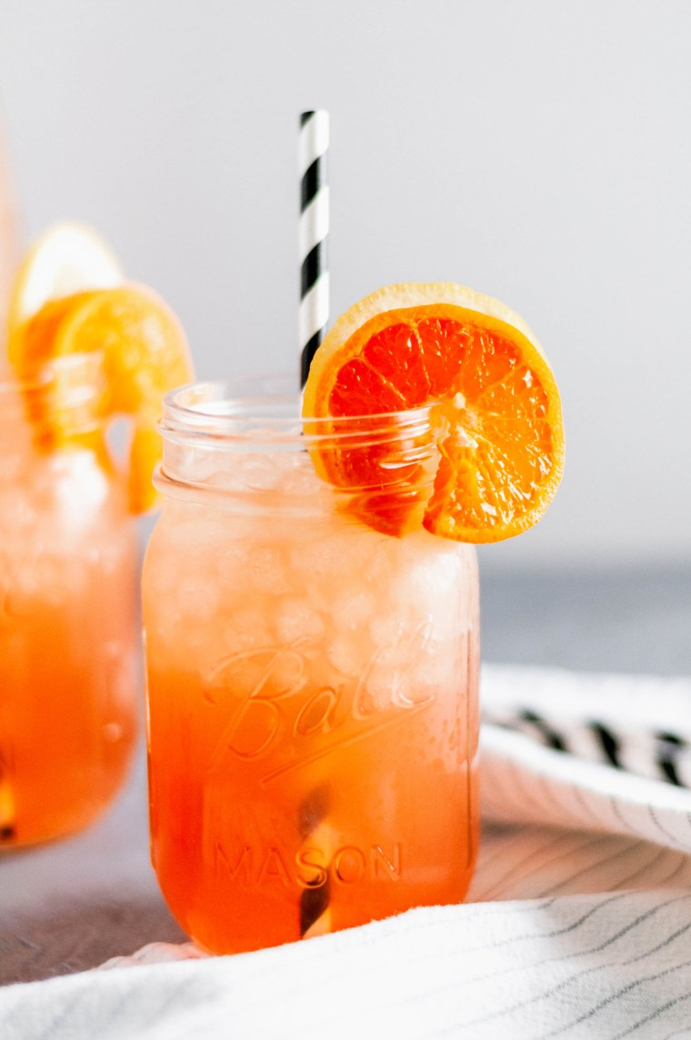 You need a Citrus Arnold Palmer this summer. The tea is made in the Instant Pot for a quick and simple start to this bright, refreshing drink.