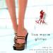 Slink Lisa Marie Glitter Poster