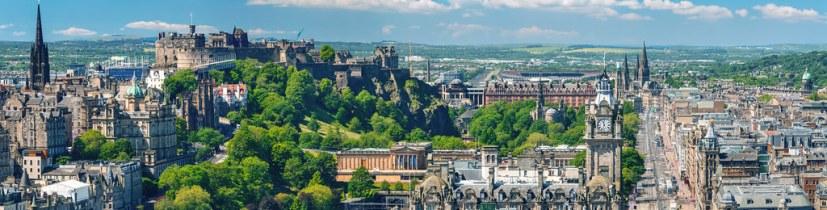 Edinburgh - View from Nelson Monument