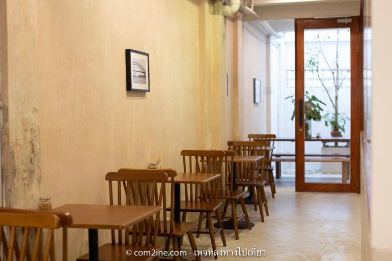 บรรยากาศร้าน SINGLE LANE Specialty Coffee