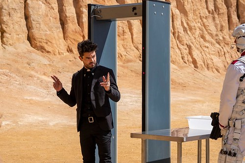 Dominic Cooper as Jesse Custer - Preacher _ Season 4, Episode 1 - Photo Credit: Lachlan Moore/AMC/Sony Pictures Television