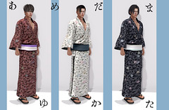 r-l-f + *N* AMEDAMA YUKATA for Boy