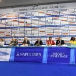 Napoli 2019, presentata dalla FISU la 30ª Universiade estiva