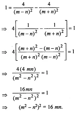 ML Aggarwal Class 10 Solutions for ICSE Maths Chapter 18 Trigonometric Identities Chapter Test Q12.1
