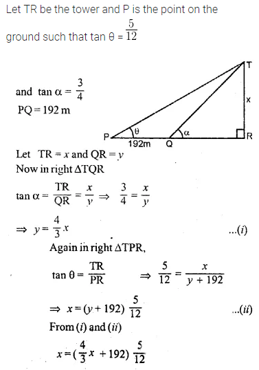 ML Aggarwal Class 10 Solutions for ICSE Maths Chapter 20 Heights and Distances Ex 20 Q21
