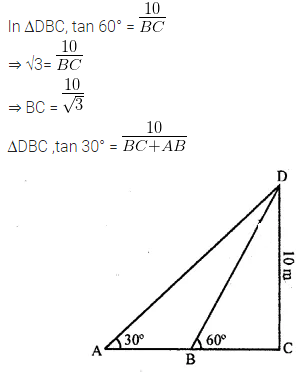 ML Aggarwal Class 10 Solutions for ICSE Maths Chapter 20 Heights and Distances Ex 20 Q28