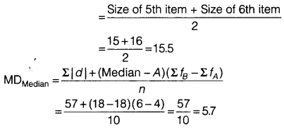 Statistics for Economics Class 11 NCERT Solutions Chapter 6 Measures of Dispersion 8