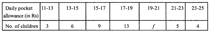 ML Aggarwal Class 10 Solutions for ICSE Maths Chapter 21 Measures of Central Tendency Ex 21.1 Q23
