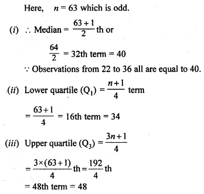 ML Aggarwal Class 10 Solutions for ICSE Maths Chapter 21 Measures of Central Tendency Ex 21.2 Q12.2