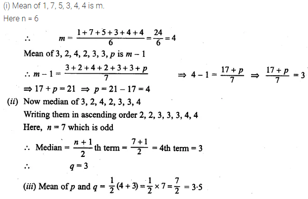 ML Aggarwal Class 10 Solutions for ICSE Maths Chapter 21 Measures of Central Tendency Ex 21.2 Q5