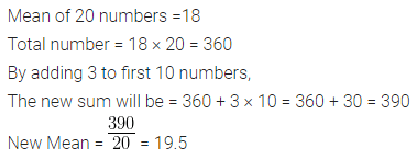 ML Aggarwal Class 10 Solutions for ICSE Maths Chapter 21 Measures of Central Tendency Chapter Test Q2