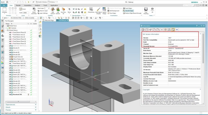 Design with Siemens NX 1867.4100 Win64 full license