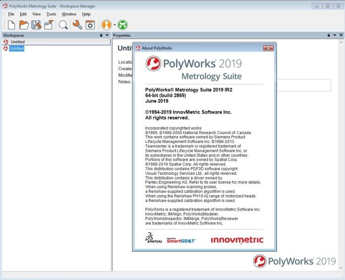 working with InnovMetric PolyWorks Metrology Suite 2019 IR2 full