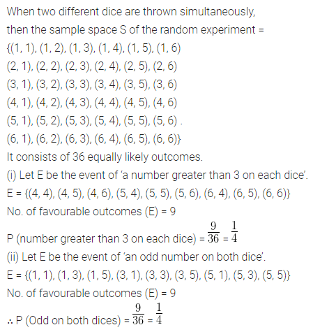 ML Aggarwal Class 10 Solutions for ICSE Maths Chapter 22 Probability Ex 22 Q40