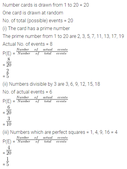 ML Aggarwal Class 10 Solutions for ICSE Maths Chapter 22 Probability Ex 22 Q24