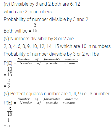 ML Aggarwal Class 10 Solutions for ICSE Maths Chapter 22 Probability Ex 22 Q26.1
