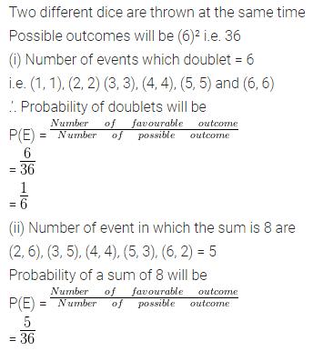 ML Aggarwal Class 10 Solutions for ICSE Maths Chapter 22 Probability Ex 22 Q41