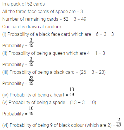 ML Aggarwal Class 10 Solutions for ICSE Maths Chapter 22 Probability Ex 22 Q36
