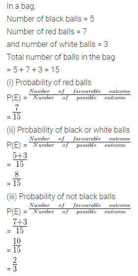 ML Aggarwal Class 10 Solutions for ICSE Maths Chapter 22 Probability Ex 22 Q11