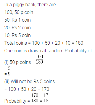 ML Aggarwal Maths for Class 10 ICSE Solutions Pdf Download Chapter 22 Probability Ex 22 Q14