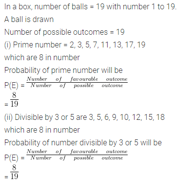 ML Aggarwal Class 10 Solutions for ICSE Maths Chapter 22 Probability Ex 22 Q27