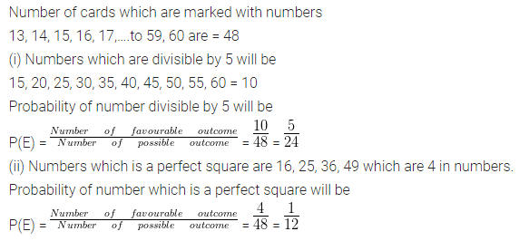 ML Aggarwal Maths for Class 10 ICSE Solutions Pdf Download Chapter 22 Probability Chapter Test Q10