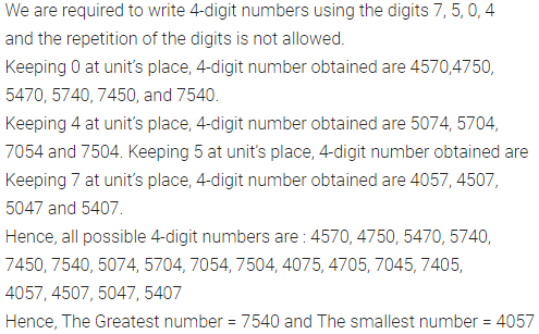 ML Aggarwal Class 6 Solutions For ICSE Maths Chapter 1 Knowing Our Numbers  Ex 1.2