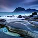 Lofoten rock pool
