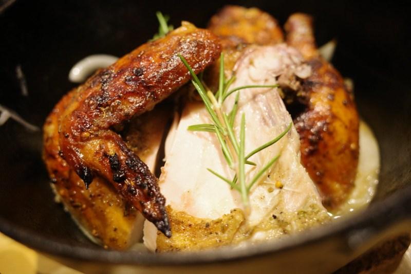 roast chicken 清流若どりのロースト