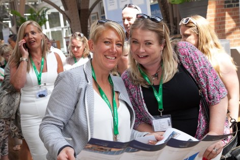 Saga Spirit of Discovery VIP Trade Event 2-4 July 2019 - Nicola Proffit, Catherine Haynes, both Travel Counsellors