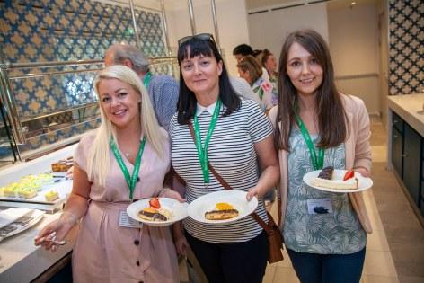Saga Spirit of Discovery VIP Trade Event 2-4 July 2019 - Lisa Farnworth, Susan Ward, Gemma Kirkbright, all Althams