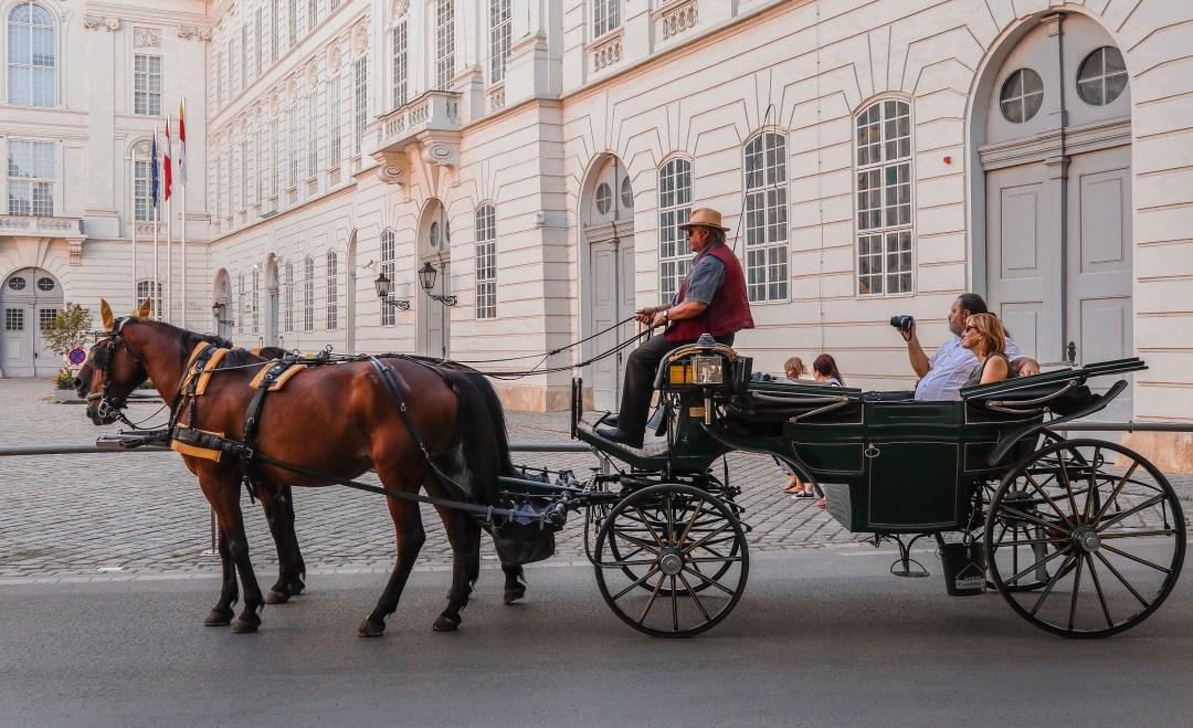 Come muoversi a Vienna, carrozze