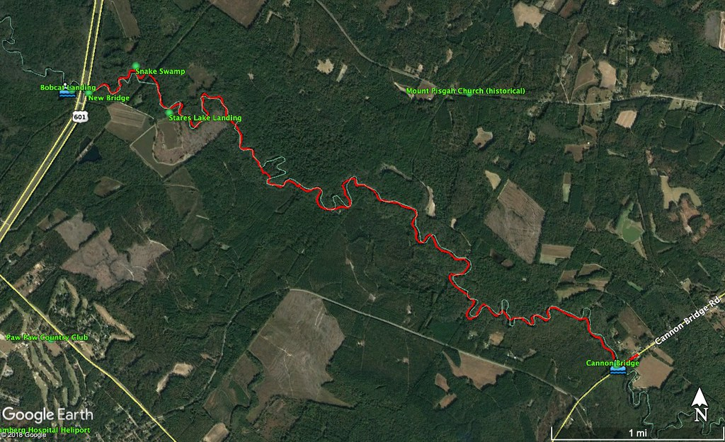 Edisto River Route